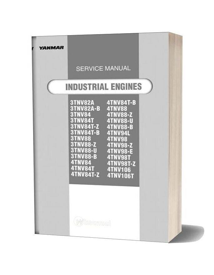 Yanmar New Tnv Direct Service Manual