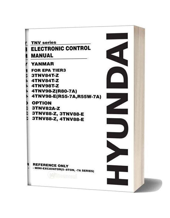 Yanmar Tnv Series Ecm Engine Service Manual