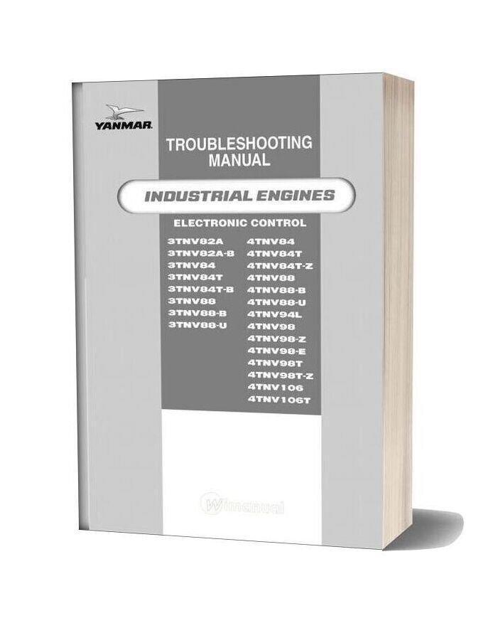 Yanmar Troubleshooting Manual Industrial Engines