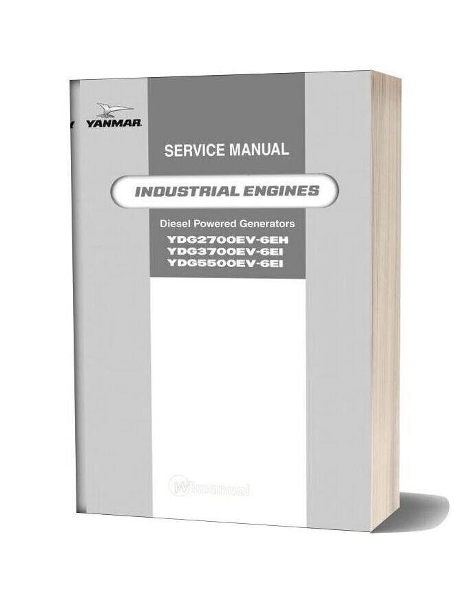 Yanmar Ydg Lv Service Manual