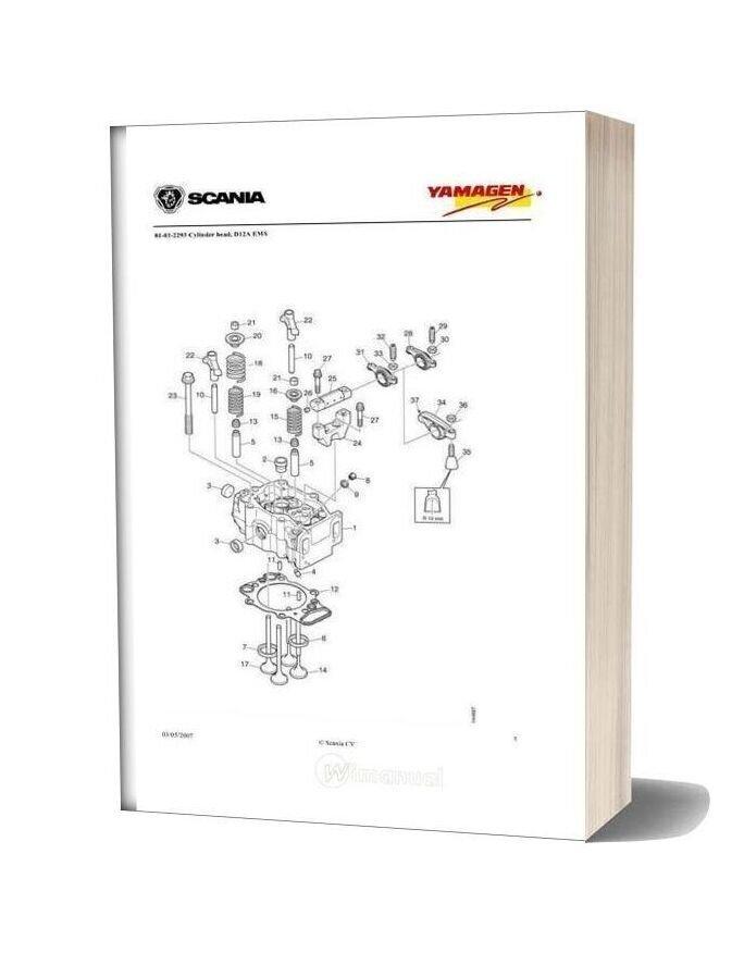 Yanmar Ys Dc12 Engine Generator 400 Kva Wpy400 Parts Catalog
