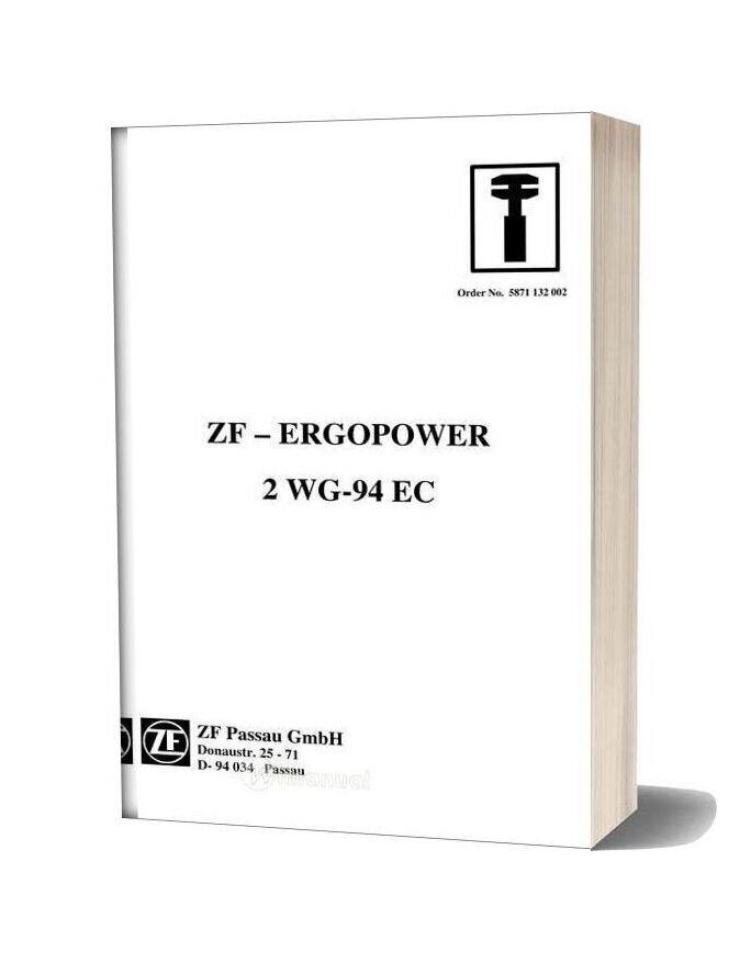 Zf 2 Wg 94 E Repair Manual