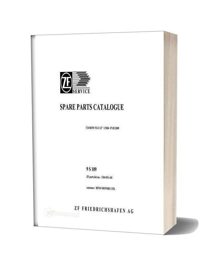 Zf 9s109 1304 051 445 Hino Fm2p Spare Parts Catalog