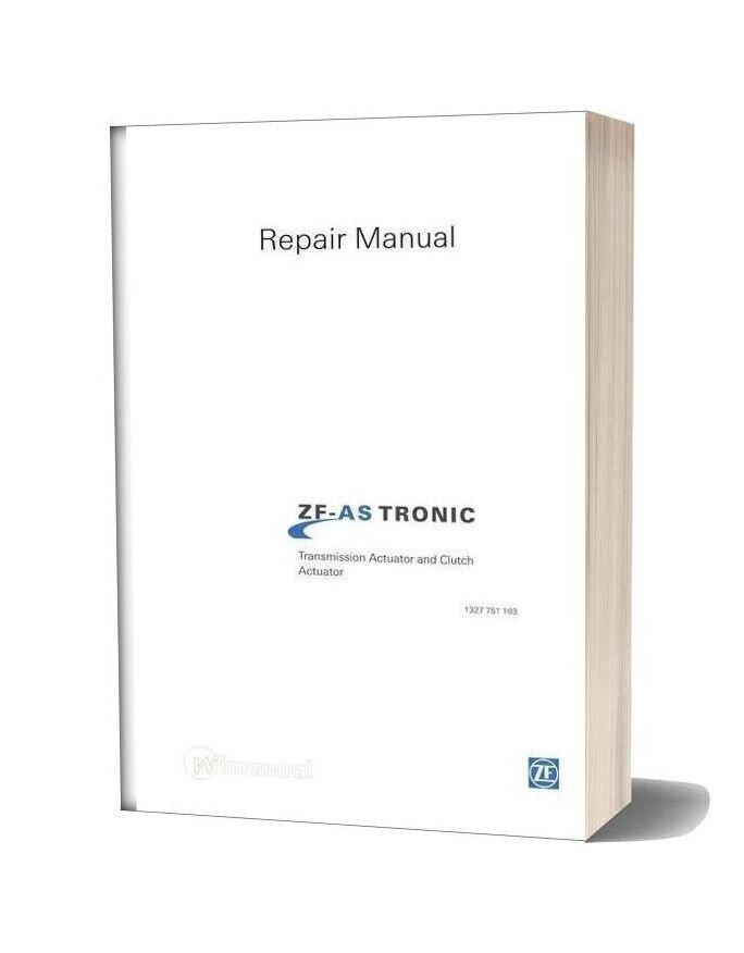 Zf As Tronic Trucks 1327 751 103 2005 Repair Manual