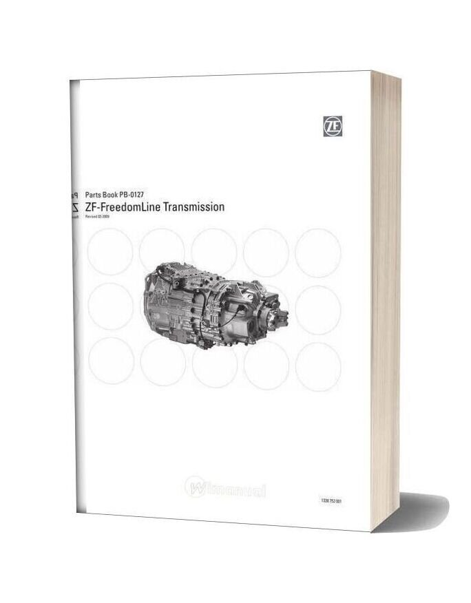 Zf Freedomline Transmission Parts Manual (Pb0127 09)