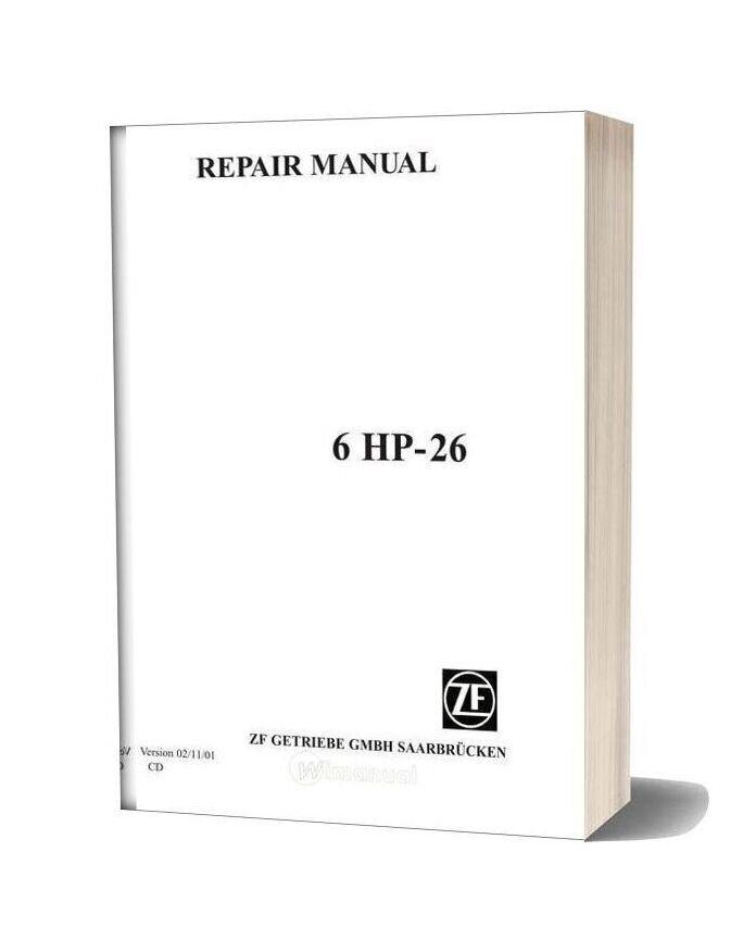 Zf Repair Manual