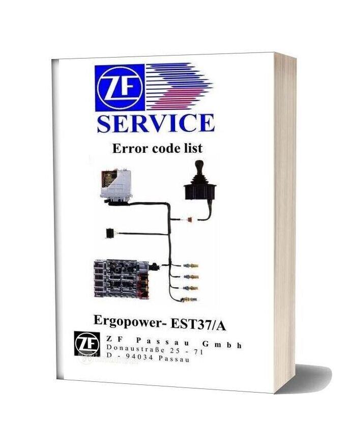 Zf Service Error Code List